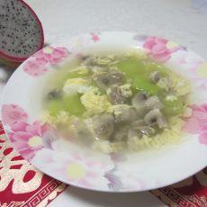 莴笋蘑菇蛋汤
