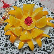 橙子拼盘的做法