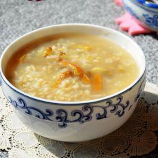 陈皮糙米禄豆粥