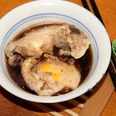 桂圆黄酒蒸蛋