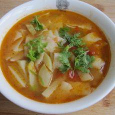 番茄土豆面片汤