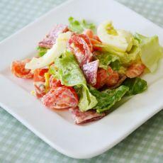 萨拉米蔬菜沙拉的做法