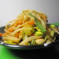 金针菇炒豆芽