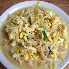 豆芽鸡蛋汤