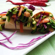 锦带芽菜卷
