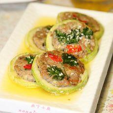 西葫芦肉饼