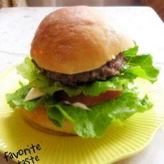 自制美味汉堡包