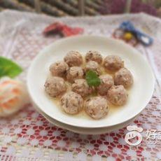 手工香菇肉丸