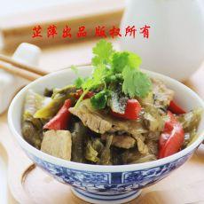酸菜炒猪肉的做法