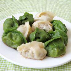 双色饺子锅贴