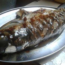 清蒸草鱼酿肉的做法