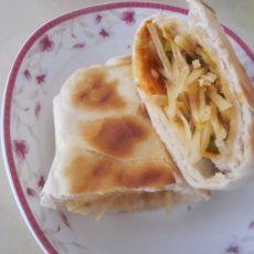 土豆丝夹饼的做法
