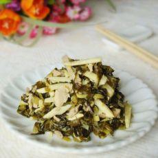 雪菜冬笋炒肉丝的做法
