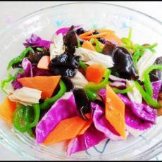 姹紫嫣红凉拌菜的做法