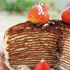 巧克力千层蛋糕的做法