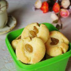 葡萄干蛋黄饼干的做法