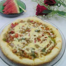 电饭锅版比萨的做法