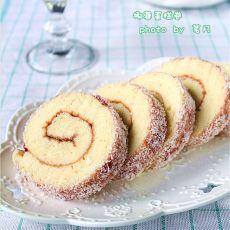 椰蓉蛋糕卷的做法