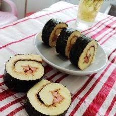 紫菜蛋糕卷的做法