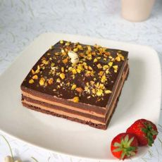 尊享布朗尼蛋糕的做法