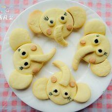 大象饼干的做法