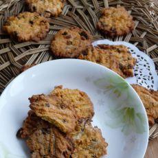 玉米燕麦葡萄干饼干的做法