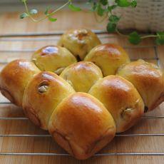全麦蜂蜜葡萄干面包的做法