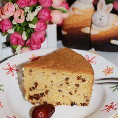 红枣戚风蛋糕的做法