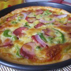 喷香烤肉披萨―自制披萨酱的做法