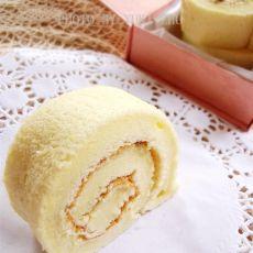 豆浆戚风蛋糕卷