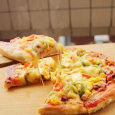 叉烧玉米披萨