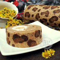 豹纹芭娜娜蛋糕卷