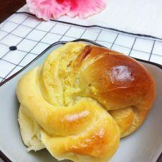 椰蓉小花包