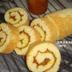 香橙果酱蛋糕卷(首发)