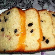 黑加仑面包—面包机版的做法