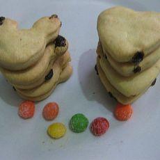 葡萄干饼干(低糖低脂型)-烘焙处女作的做法