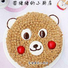 糖霜小熊蛋糕的做法
