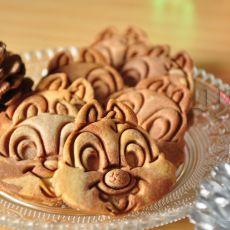 超可爱花栗鼠饼干的做法