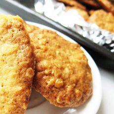 燕麦脆饼干的做法