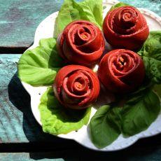 红玫瑰面包