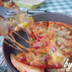 熏肠披萨的做法