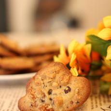 蛋白榛果脆饼的做法