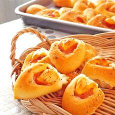 火腿乳酪麦穗面包的做法