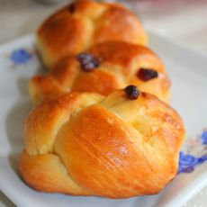 蔓越莓花式面包