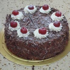 正宗法式黑森林蛋糕