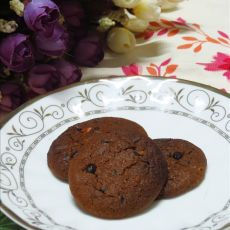 摩卡巧克力甜饼的做法