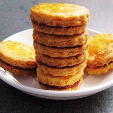 植物油果酱夹心饼干