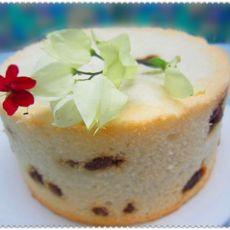 红酒葡萄天使蛋糕的做法
