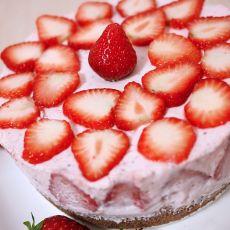 草莓慕司蛋糕