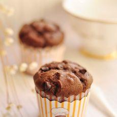 可可巧克力豆麦芬的做法